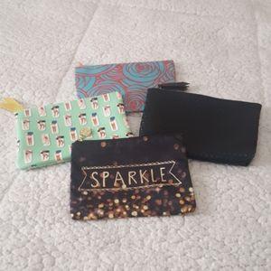 Bundle of Cosmetic bags, set of 4